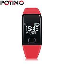 Potino T1S Смарт Браслет Для мужчин и Для женщин спортивные Умные браслеты сердечного ритма для HTC Xiaomi Samsung Примечание Android PK Tw64 H8