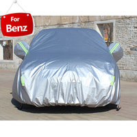 Full Car Covers For Car Accessories With Side Door Open Design Waterproof For Mercedes Benz W124 W203 W204 W205 W210 W212 W213