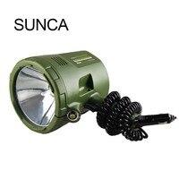 Портативный автомобильный прожектор сильный свет дальний фонарик Открытый Кемпинг ночь рыбалка HID xenon фонарик