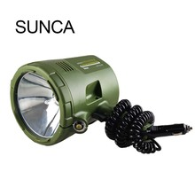 Handheld car searchlight strong light long-range flashlight outdoor camping night fishing HID xenon