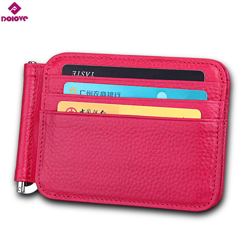 569bb7bf7f DOLOVE Latest Slim Leather Clip Wallet for Men - Best Front Pocket Wallet  with Credit Card Holder & ID Case - RFID Blocking