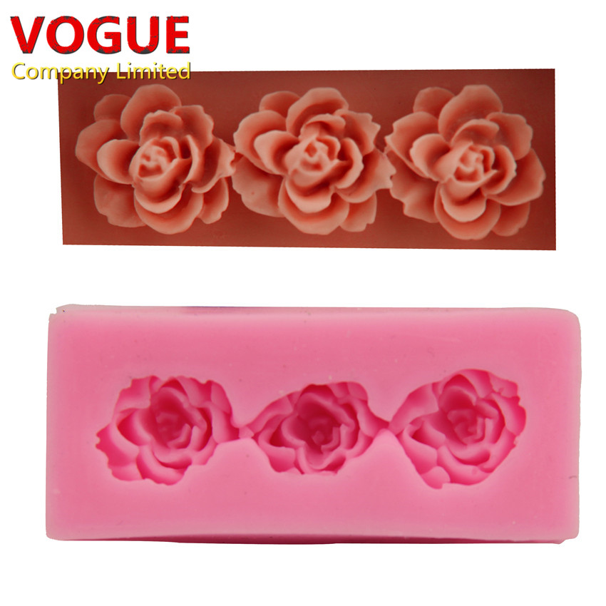 Cake Decorating Chocolate Molds : Aliexpress.com : Buy Rose cake decorating tools DIY Clay ...