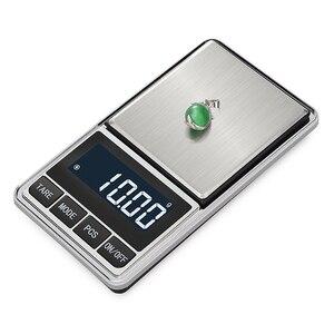 Image 1 - אלקטרוני תכשיטי מאזן קנה מידה גרם 0.01 דיוק עבור זהב דיוק מיני כיס סולם מטבח משקל סולם