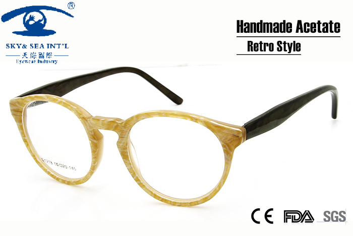 ₩New Style Vintage Eyeglasses Frames Eyewear Retro Round Glasses ...