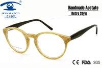 New Style Vintage Eyeglasses Frames Eyewear Retro Round Glasses Women Men Unisex Prescription Glasses Frames
