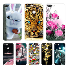 Case For Huawei Honor 9 Lite Case Silicone 3D Phone Case For Huawei Honor 9 Lite Cover Funda Shell Capas For Honor 9 Lite Coque смартфон honor 9 lite 64gb серый