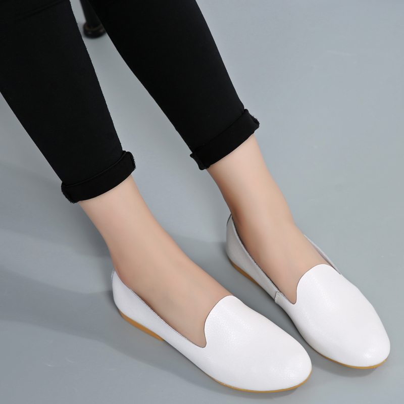 Spring Autumn Loafers Women Shoes Ladies Flat Shoes Flats Woman Casual Shoe Sapato Zapatos Mujer Womens Loafer flat shoes women pu leather women s loafers 2016 spring summer new ladies shoes flats womens mocassin plus size jan6