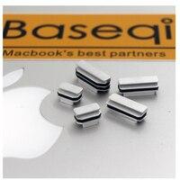 Baseqi IHUT Aluminum Dust Plugs For MacBook Pro Retina 13 15inch