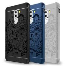 Роскошный телефон случае Для Huawei Honor 6X6 Х Высокой качество силиконовые жесткий Защитная крышка аргументы за huawei 6x shell