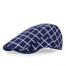 Classic Englad Stile Plaid Berretti Caps Per Gli Uomini Donne Sport Casuali  Unisex Protezioni del Cotone Berretti Cappelli Boina. 9502a4db06e0
