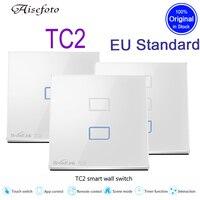New Broadlink EU Standard 1 2 3 Gang Optional Mobile Remote Light Lamps Wall Switch Via