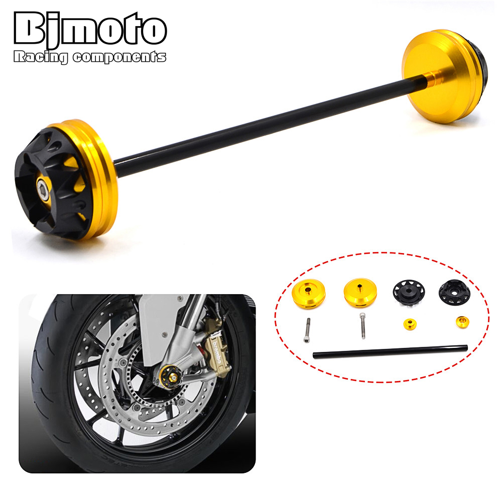 Motorbike Front Axle Fork Crash Sliders Protector Cap Falling Protection For YAMAHA MT-07 MT07 2013 2014 2015 2016 2017