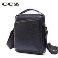 CCZ 2017 New Arrival Mens Crossbody Bag PU Leather Shoulder Bags For Men Black Flap Bag
