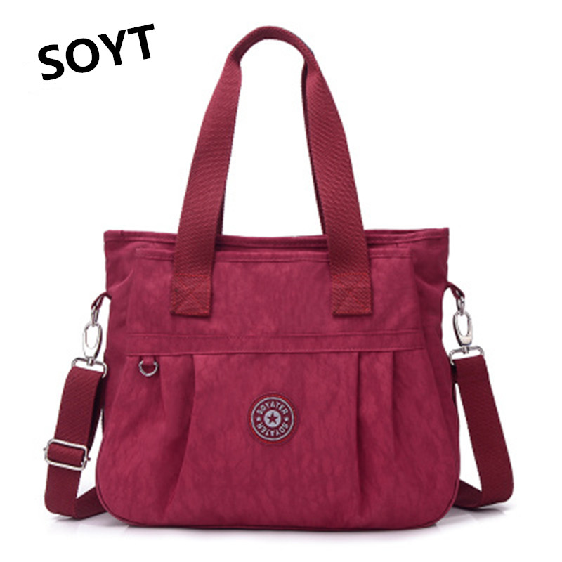 SOYT 2017 New Women Messenger Bags High Quality Handbag Shoulder Bag for Waterproof Nylon Canvas Crossbody bolsas feminina ZJ991