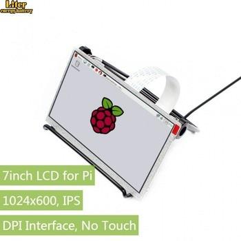 7inch IPS Display for Raspberry Pi, DPI interface, no Touch, 1024x600,Compatible with Raspberry Pi 2B/3B/Zero/Zero W