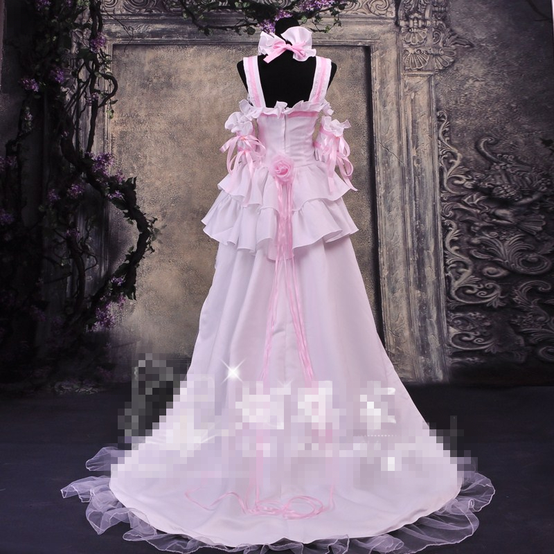 New Cos Anime Chobits Chi Pink And White Color Cosplay Dress Cosplay  Costume Princess Party Dress Custom Made Clothes on Aliexpress.com  2fe86dc8533b
