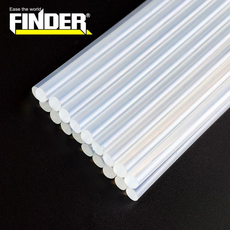 Палочки термоплавкого клея Finder 10 шт./лот 7 мм/11 мм диаметром 190/ 300 мм для электрического клеевого пистолета инструменты для ремесла альбома р...