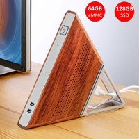 Acute Angle AA B4 DIY Mini PC Intel Apollo Lake N3450 Intel HD Graphics 500 Windows 10 8GB RAM 64GB eMMC 128GB SSD Wifi TV BOX