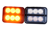 Free Shipping High Quality DC12V 6 GenIII 1W Led Grille Light Led Headlight Led Flash Light