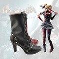 New Batman Joker cosplay shoes Anime boots  Harley Quinn high quality Custom-made