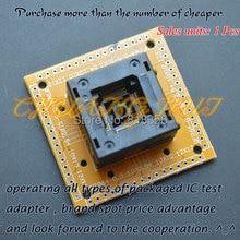 QFP64 TQFP64 LQFP64 тест IC гнездо с доской тангаж терминального=размер 0.5=10х10мм/12х12мм