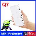 Пико карманный батареи 200 ANSI мини micro Портативный android 4.2 Miracast DLNA HD 3LED DLP видеопроектор для Android телефона таблетки