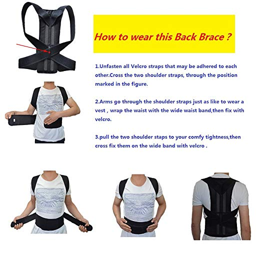 Adjustable Back Support Posture Corrector Women Men's Medical Corset Back Therapy Posture Brace Belt Support Trainer hunchback kids children posture adjustable back support corrector belt brace for boys girls band