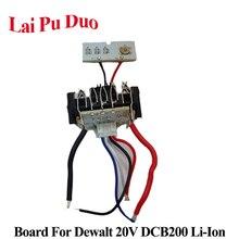For Dewalt 18V 20V 1.5Ah DCB200 Li ion Battery PCB Circuit Board  DCB201DCB203 DCB204 Charging Protection