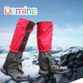 Demine Leg Gaiter Boot Shoe Covers Snow Legging Gaiter Outdoor Hiking Leg Sleeve Waterproof Ski Gaiters Snow Kneepad Leg Protect