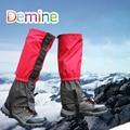 Demine Leg Gaiter Boot Shoe Covers Snow Legging Gaiter Outdoor Hiking Leg Sleeve Waterproof Ski Gaiters Snow Kneepad Leg Protect