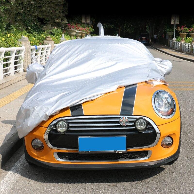 Full Car Body Cover Sunproof Waterproof Dustproof Auto Cover Sunshade for MINI Cooper Countryman Clubman R55 R56 R60 R61 F55 F56 car door rocker panel decoration sticker graphics for mini cooper clubman countryman hardtop r50 r53 r55 r56 r60 r61 f54 f55 f56