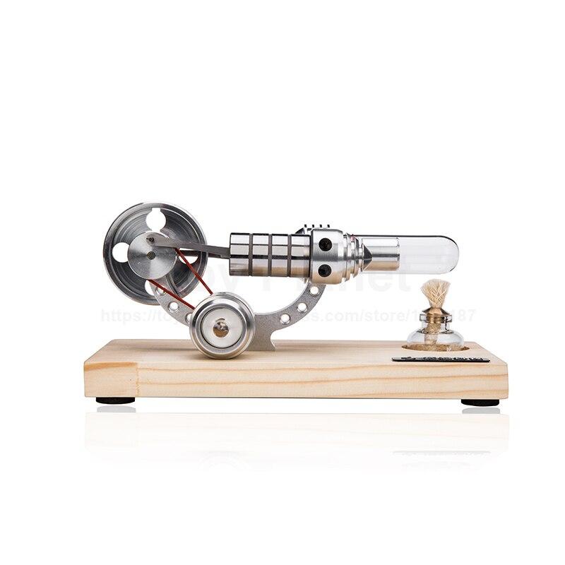 Moteurs Stirling moteur à combustion externe de haute technologie Mini générateur de alimentation LED moteur à Air chaud