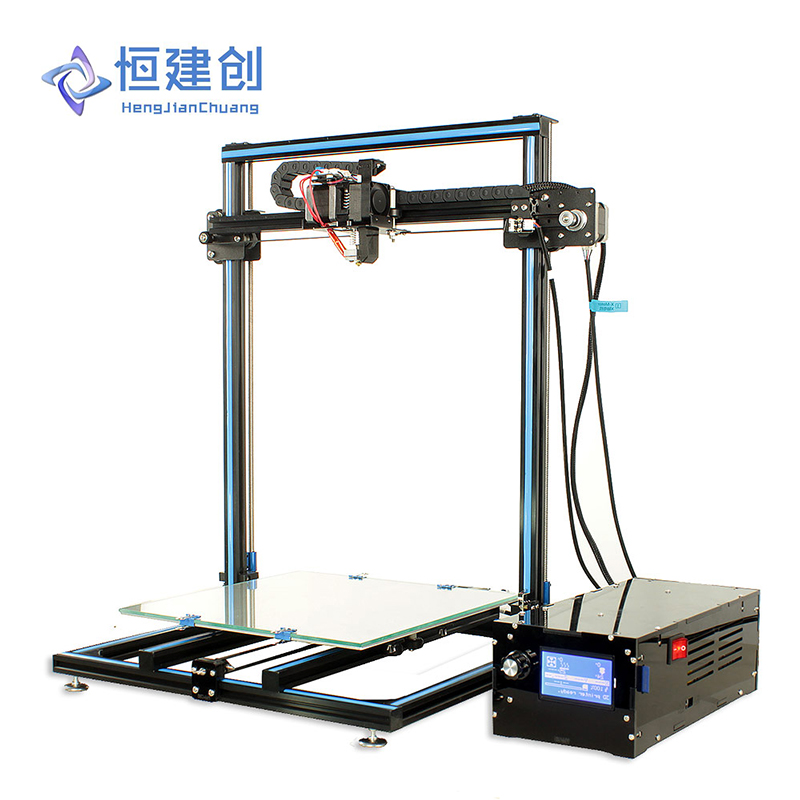 3D Printer Creality Big Size Roller Track Movement Structure Tank Chain High Quality Extruder Stable Printing HJC HCmaker 7 stable page 7