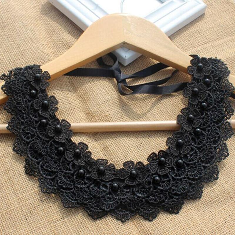 2017 New Chain Detachable Collar New Double Chain Choker Collar Women Collier Femme Clothing Accessary False Collar