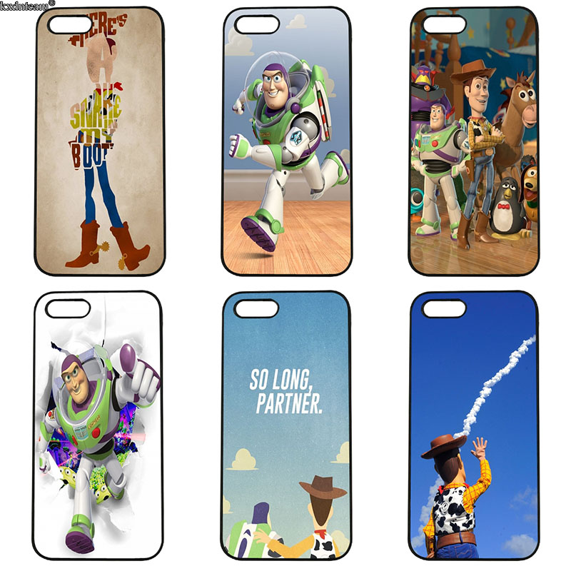 Cartoon Toy Story Sully Cell Phone Cases Hard PC Plastic Cover for iphone 8 7 6 6S Plus X 5S 5C 5 SE 4 4S iPod Touch 4 5 6 Shell