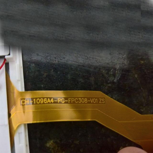 Para 10 pulgadas DH/CH-1096A4-PG-FPC308-V01 ZS CH-1096A4-PG-FPC308-V01 ZS pantalla táctil digitalizador Sensor piezas de repuesto 236X167mm