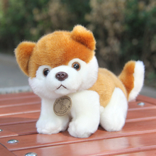 new plush yellow husky dog toy small cute husky dog doll gift about 21cm