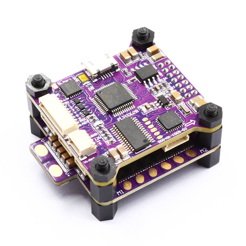 Flycolor 30.5x30.5mm Raptor S-Tower F4 OSD Flight Controller 40A BL_S DShot600 ESC For RC Models Racing Drone Parts