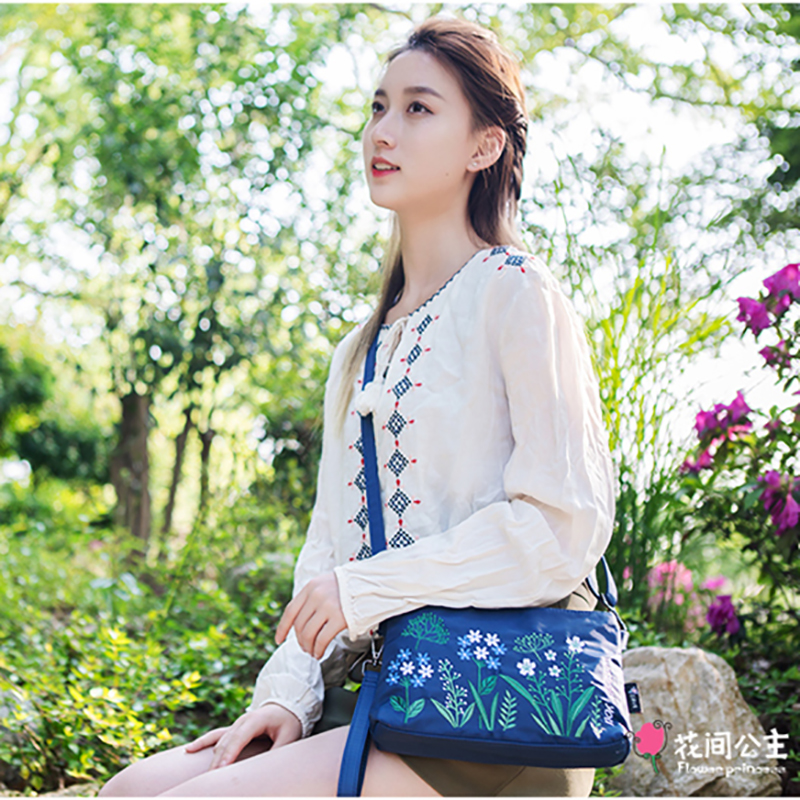 Cvjetna princeza Ženska torba za nošenje na ramenima Ženska torba - Torbe - Foto 2