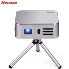 Noyazu E05 Портативный мини светодиодный проектор Wi-Fi DLP пико-проектор с HDMI/USB Беспроводной Управление для дома на открытом воздухе путешествия