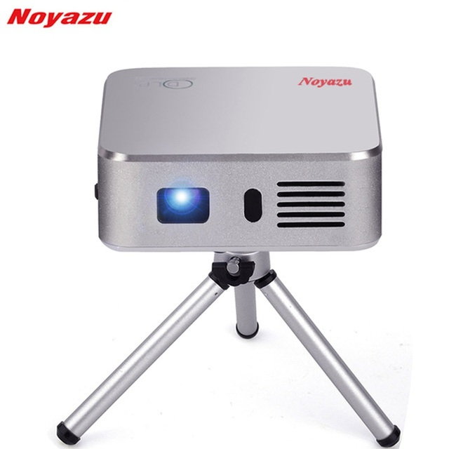 Best Offers Noyazu E05 Portable Mini LED Projector Wifi Smart DLP Pico Projector with HDMI/USB  Wireless Control for Home Outdoor Travel