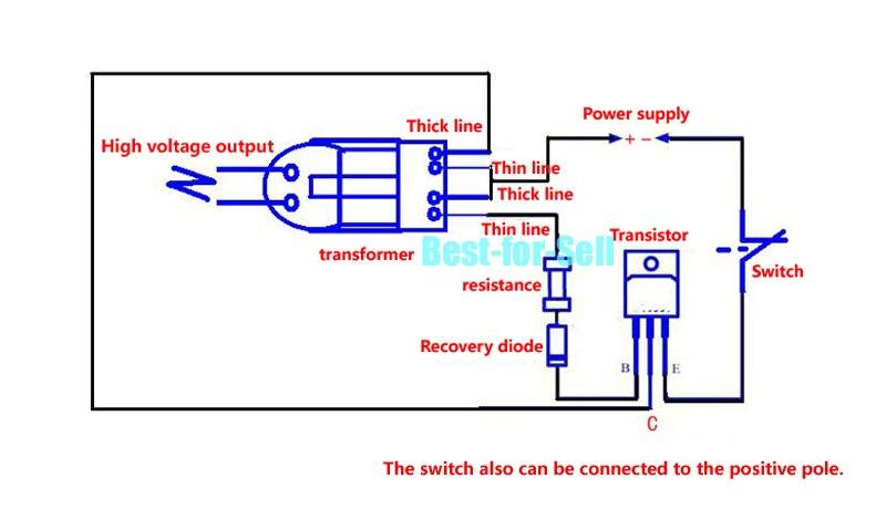 15кВ высокочастотный постоянный ток высокого напряжения дуговой зажигания Генератор Инвертор повышающий 18650 DIY комплект U сердечник Трансформатор Набор 3,7 в