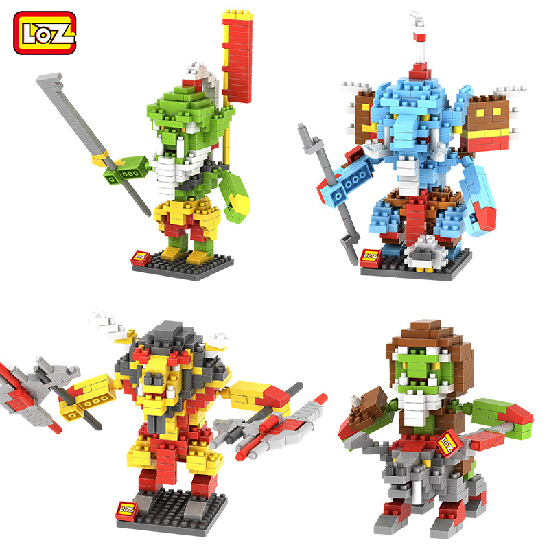 LOZ World of War craft ORC Hero Action Figure Building Blocks Blade Master Far Seer Tauren Mini Building Blocks WOW Decoration