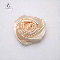 50 sztuk 9 Kolory 6 cm Małe Mini Róży Kwiat Jedwabiu Głowy dla Wedding Party Decoration Craft DIY Nadgarstek Stanik Akcesoria Boutonnieres