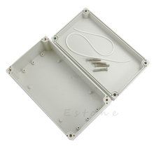Hot Waterproof Plastic Electronic Project Enclosure Cover CASE Box 158x90x60mm Q02 Dropship
