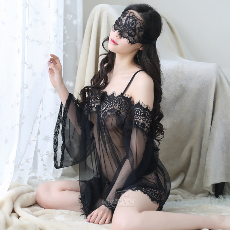 Lace sexy clothes, maternity can wear lace dress, lace lingerie woman ultimate temptation