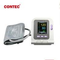 CE & Fda CONTEC08A Cyfrowy Monitor Ciśnienia Krwi Ramię Dorosłych mankiet + Dziecko + Opcjonalnie Pediatryczne + Neonatalfree mankiet Sonda Spo2