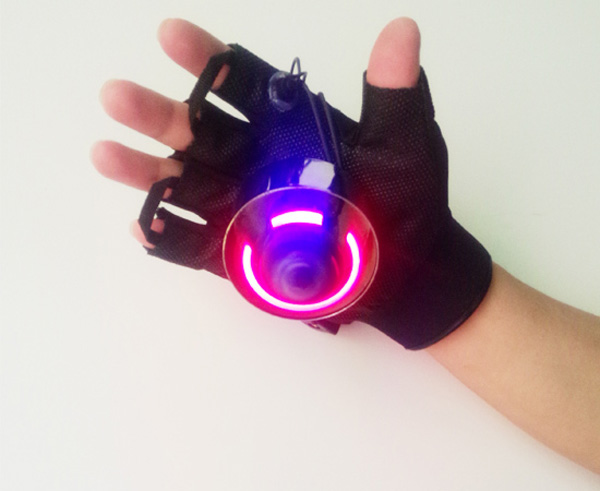 ФОТО Red and Green color laser glove, special effect stage light, Christmas,