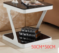 Toughened glass moving small tea table.Coffee Tables