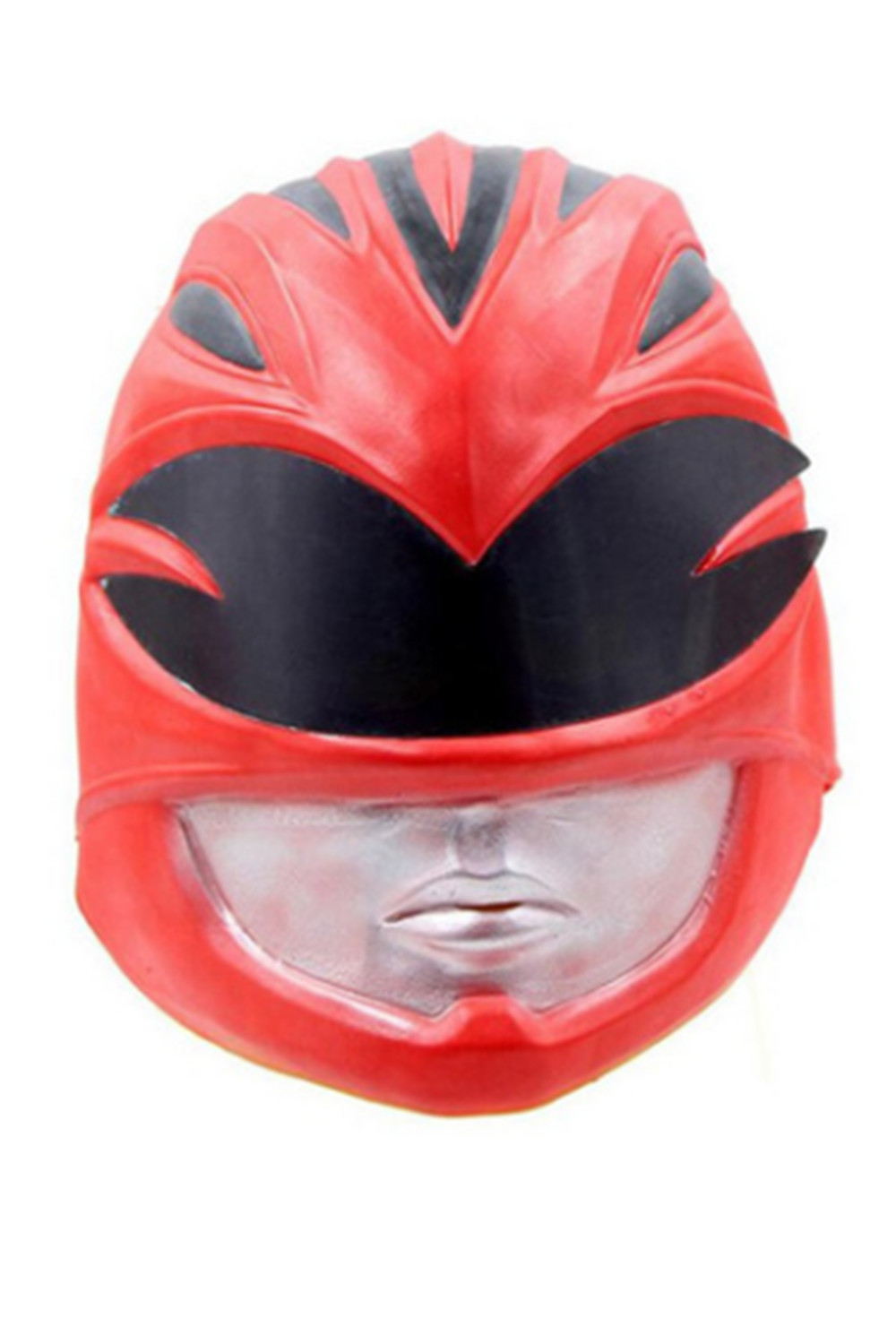 Cosplay Helmet Red Mask Hero Costume Props Full Head Mask Halloween Helmet Party Masque Accessories Prop Latex Mask Carnival
